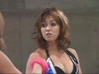 Maria Ozawa wrestling
