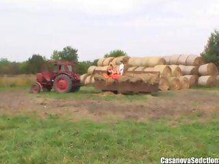 Russian School Girls Seduce The Farmer