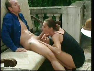 Papa - Brunette Centerfold Loves the Rod