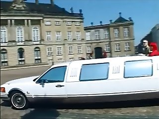 Ingrid Swede, a club swinger in a Limo