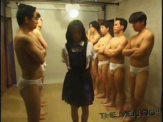 Bukkake Highschool Lesson 7 24 Japanese uncensored blowjob