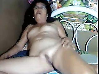 Filipina 57 years old granny