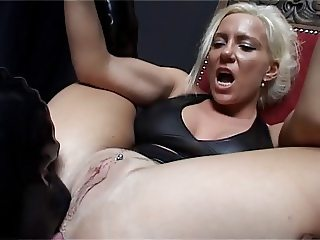 Sharon daVale Mistress vs Rubberslave(s) II Rimming Anal