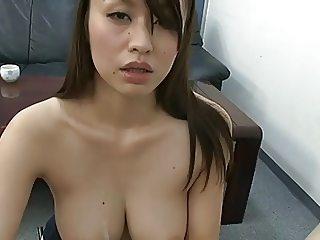 Japan Job Interview For Office Slut
