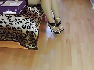 heels and jewlery