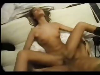 Blonde sex (couple, facial, naked, tits, sex tape)