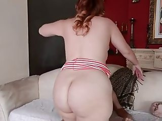 BBW get her plump pussy fucked