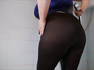 Big Ass Wet Spandex 3