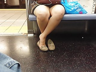 More Feet on Train