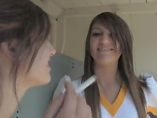 Smoking Cheerleaders