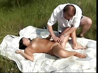 Ugly Old Fucker Nails Erotic Younger Girl