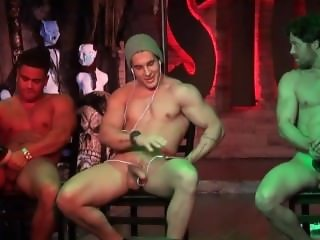 stockbar presents the Jerk Off Contest with 3 of our dancers competing.