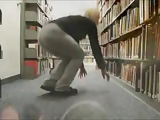 Library Slut Suck and Fuck