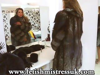 Fur Fetish Silver Fox