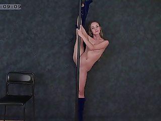 flexible girl Margo clip04 part01