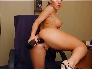 busty milf anal big toy doggy - spreading legs big pussy