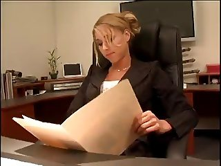 Sexy Boss Katie Morgan Screws The Summer Intern Video