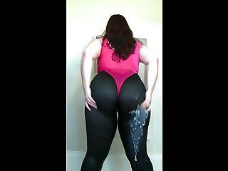 Big Ass Wet Spandex 8