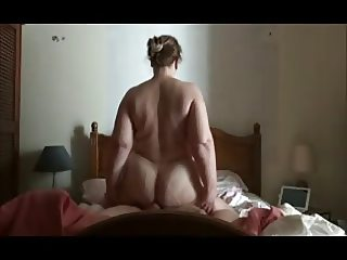BBW Rides until she's filled with cum