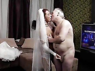 Old Husband and Italian Bride