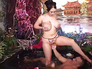 Jacuzzi Fucking - Big Tits