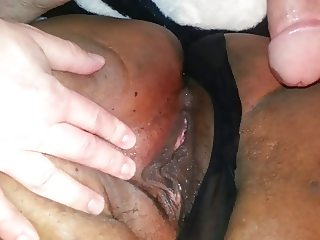Tight thick redbone pussy fucked missionary position