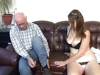 Grandpa fucks chubby Teen
