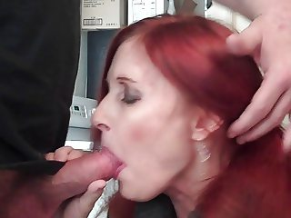 Sucking cock (plus cum shot) Show Off My Slut