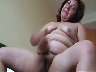 Old pervert whore masturbating. Amateur older