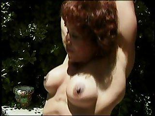 Kitana Steele's Nude Outdoor Workout