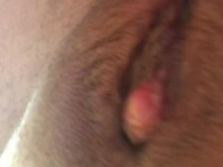 Horny big clit