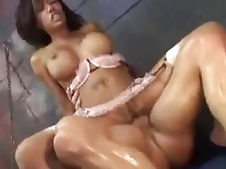 Ebony Lacey Interracial Sex in the Prison