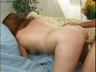 Horny Fat Chubby Nympho GF sucking and riding cock-2