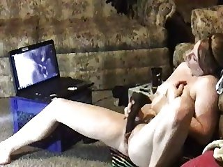 Amateur on spycam watching BBC porn busted