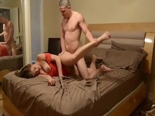 Katie comes home drunk & her brother fucks her
