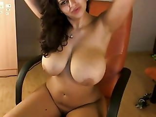 Fabulous huge tit webcam 32