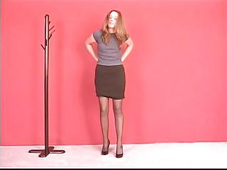 Teen slut shows her tight virgin pussy