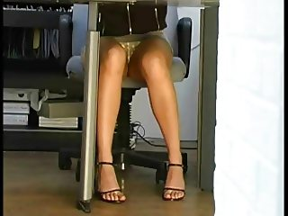 Under Desk Upskirt