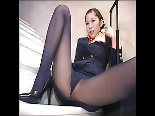 Japanese pantyhose upskirt