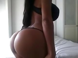 Sexy black fitness women