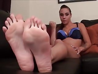 sexy foot jerk instruction