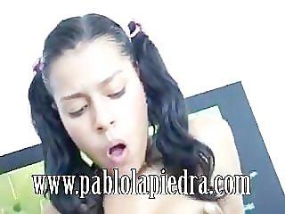 Janira From Medellin Painful Anal Gape