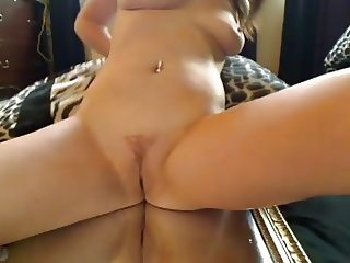 Radiantnea and her creamy wet pussy juice on a mirror