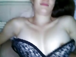 Teen GF With Perky Tits Sucks and Takes A Facial