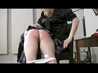 Catholic girl school spanking