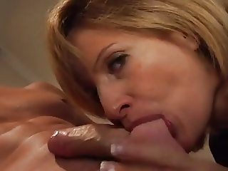 Pretty French Milf Doggy Style and Titjob