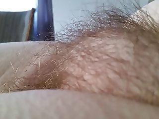 sexy hairy pussy mound,hard nipple, goose pimples