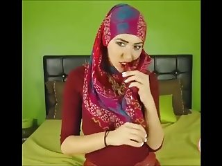 Hijab turban sexy dance ass feet