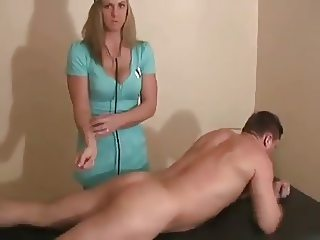 Doctor's Annual Physical is Milking Cock-daddi
