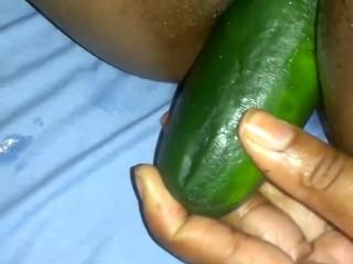 cucumber on anal